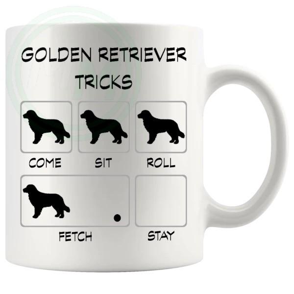 Golden Retriever Tricks Mug