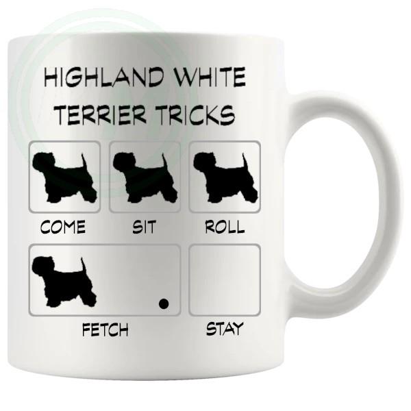 Highland White Terrier Tricks Mug