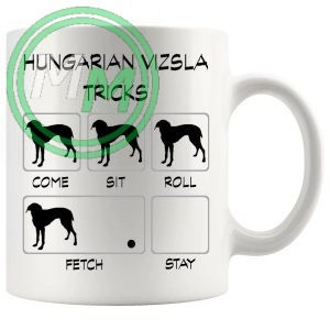 Hungarian Vizsla Tricks Mug