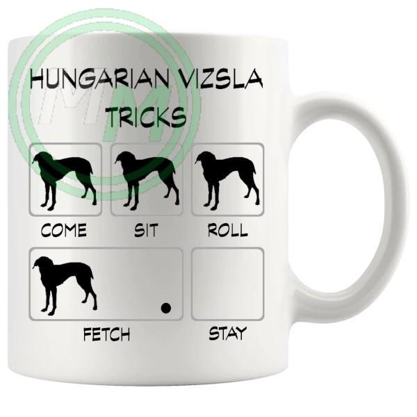 Hungarian Vizsla Tricks Mug