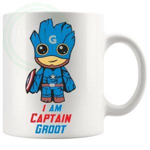 I Am Captain Groot Mug
