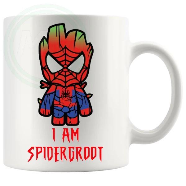 I Am SpiderGroot Mug