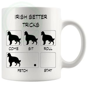 Irish Setter Tricks Mug