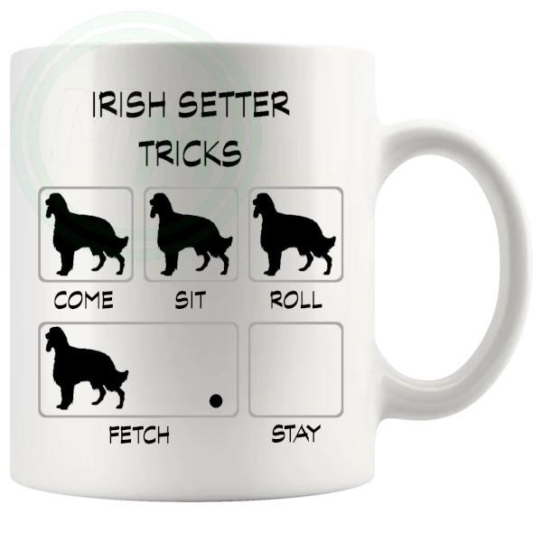 Irish Setter Tricks Mug