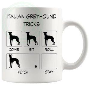 Italian Greyhound Tricks Mug