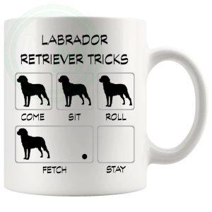 Labrador Tricks Mug