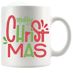 merry xmas novelty mug