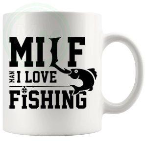 Man I Love Fishing Novelty Mug Style 2
