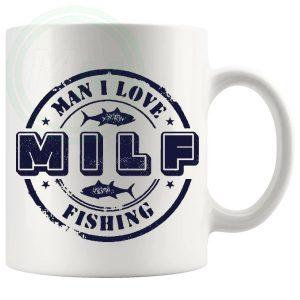 Man I Love Fishing Novelty Mug Style 3