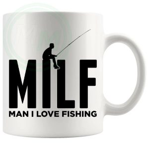 Man I Love Fishing Mug Style 1