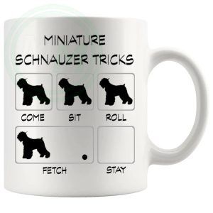 Miniature Schnauzer Tricks Mug