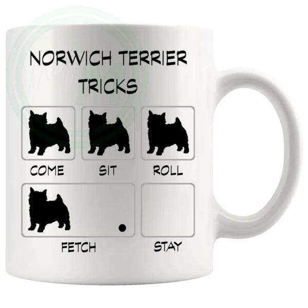 Norwich Terrier Tricks Mug