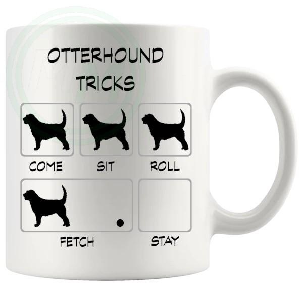 Otterhound Tricks Mug