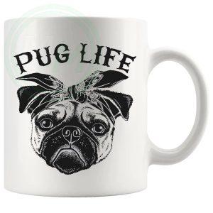 2Pug Pug Life Mug