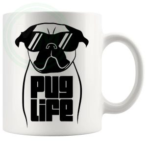 Pug Life Novelty Mug