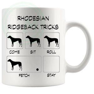 Rhodesian Ridgeback Tricks Mug
