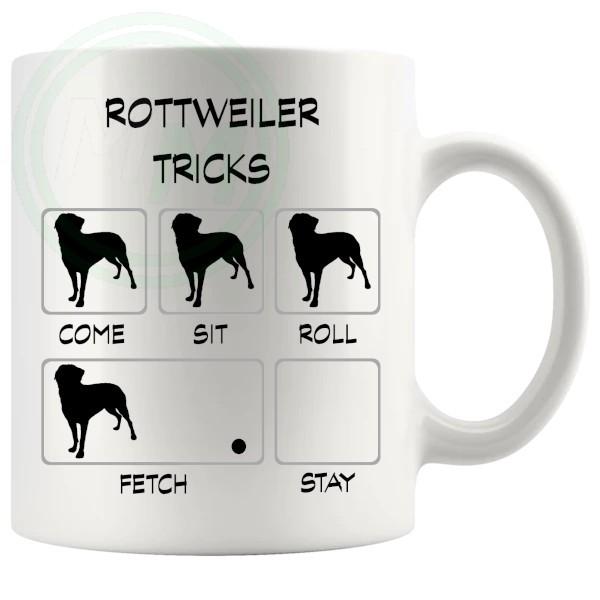 Rottweiler Tricks Mug