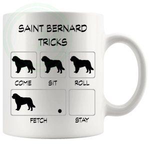 Saint Bernard Tricks Mug