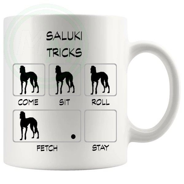 Saluki Tricks Mug