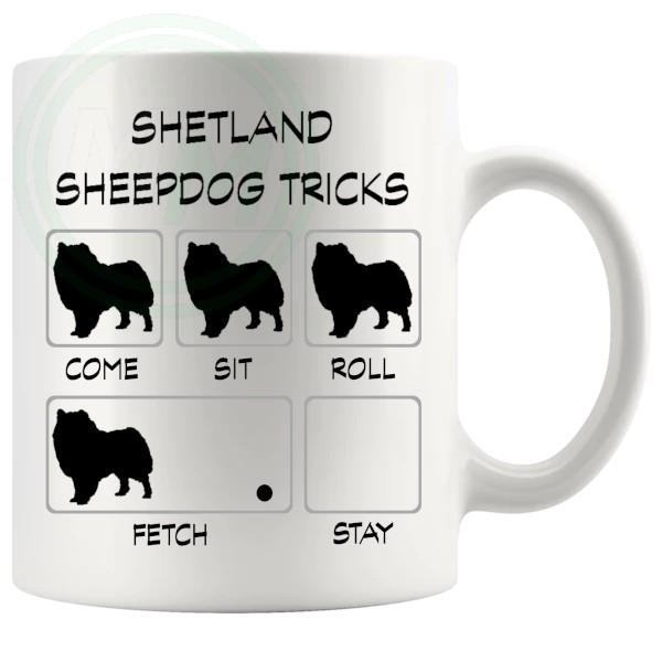 Shetland Sheepdog Tricks Mug