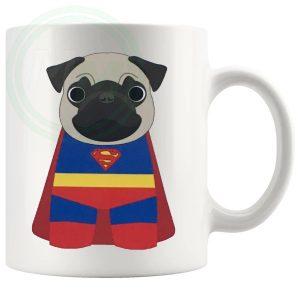 superpug novelty mug