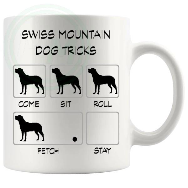 Swiss Mountain Dog Tricks Mug