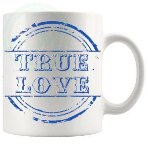 True Love Novelty Mug Blue