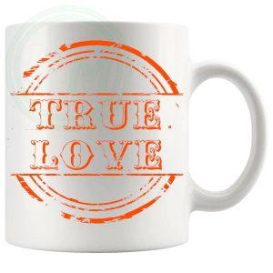 True Love Novelty Mug Orange