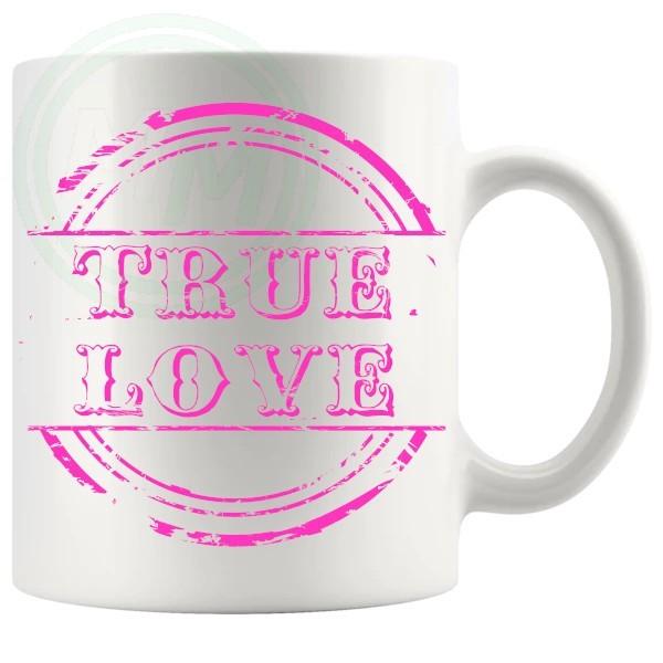 True Love Novelty Mug Pink