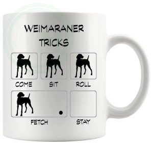Weimaraner Tricks Mug