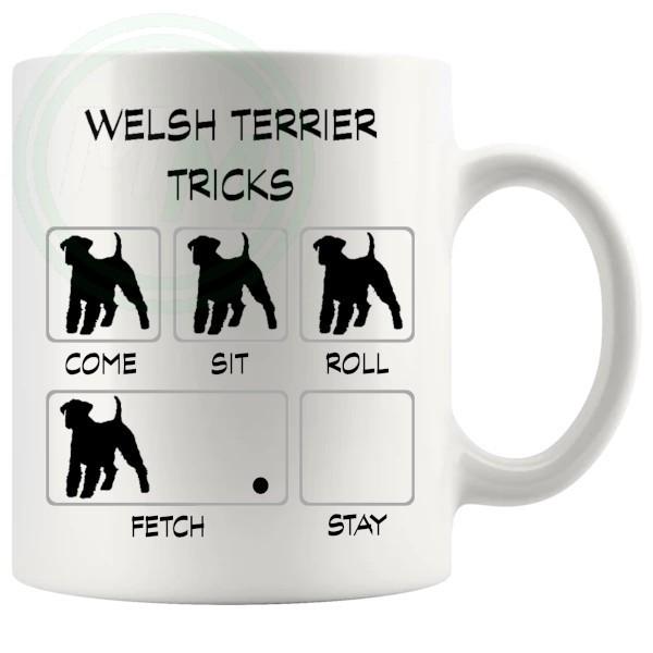 Welsh Terrier Tricks Mug