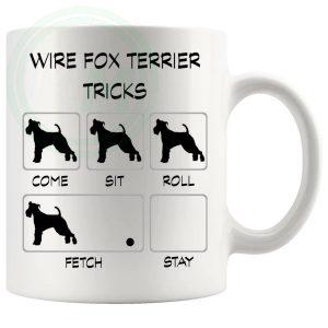 Wire Fox Terrier Tricks Mug