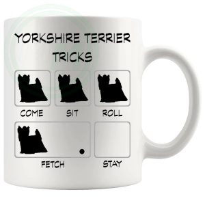 Yorkshire Terrier Tricks Mug