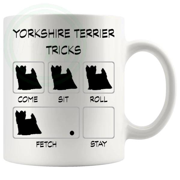 Yorkshire Terrier Tricks Mug