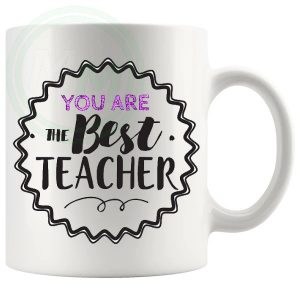 you are the best teacher pink