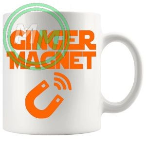 ginger magnet mug