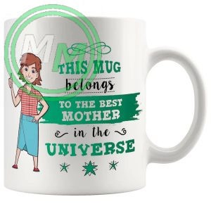 this mug belongs to the best mom