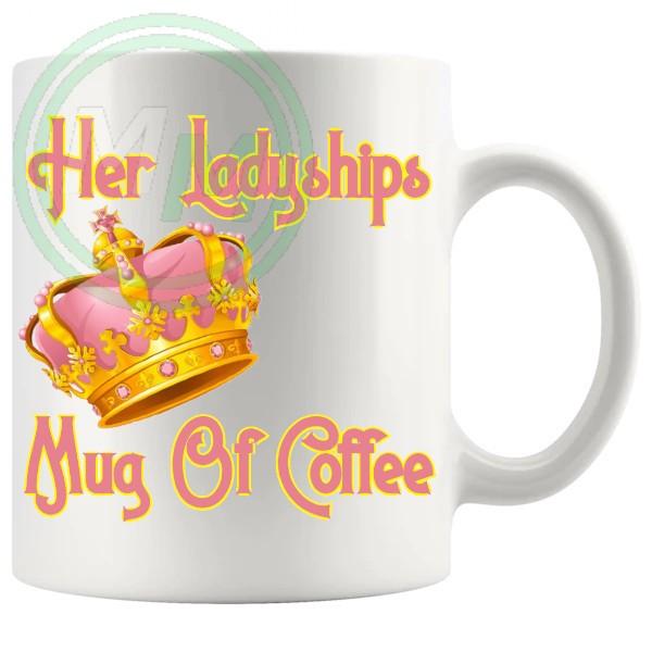 Her Ladyships Mug Of Coffee 1