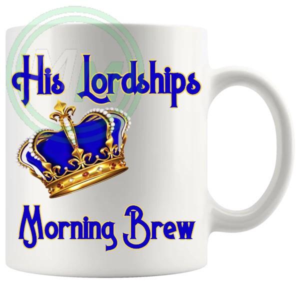 His Lordships Morning Brew Mug