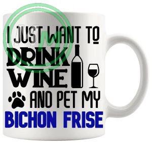 Pet My Bichon Frise In Blue