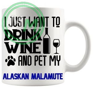Pet My alaskan malamute blue