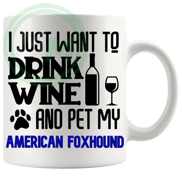 Pet My american foxhound blue