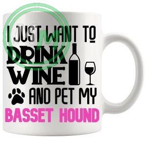 Pet My bassett hound pink