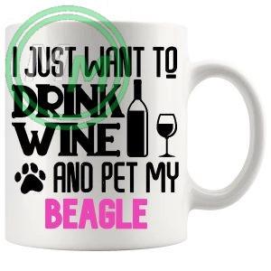 Pet My beagle pink