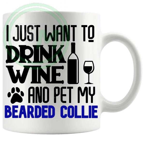 Pet My bearded collie blue