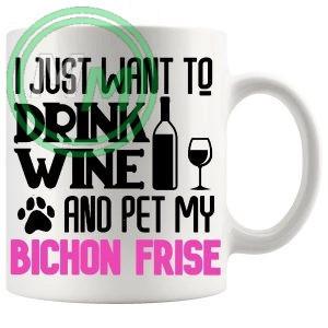 Pet My bichon frise pink