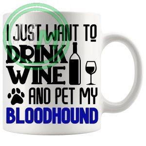 Pet My bloodhound blue