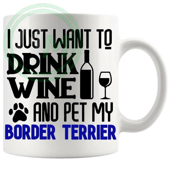 Pet My border terrier blue