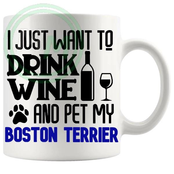 Pet My boston terrier blue 1