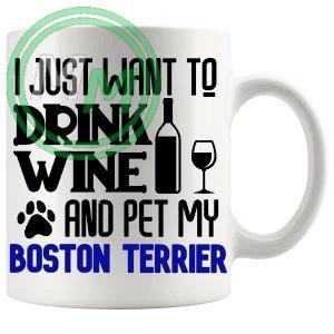 Pet My boston terrier blue